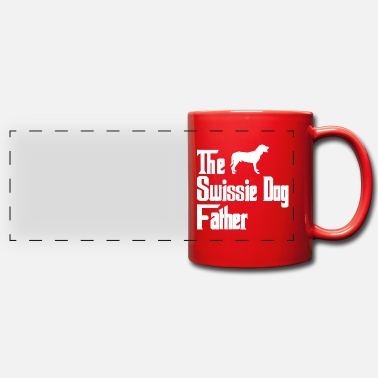 Male Puppy Dog Puppy Greater Swiss Mountain Dog dogs father dad - Panoramic Mug