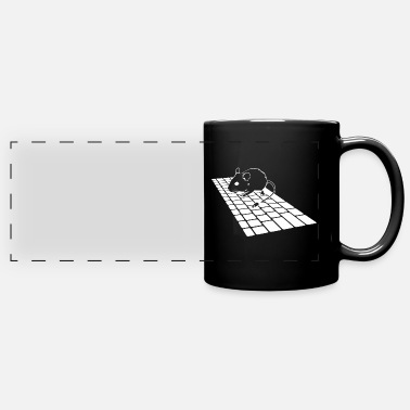Mouse And Keyboard Mouse - Keyboard - Computer - Gift idea - Panoramic Mug
