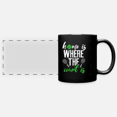 Serve Tennis serve - Panoramic Mug