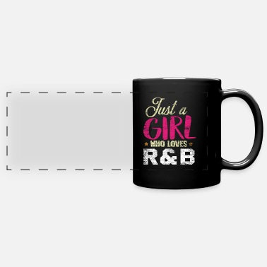 R&b R & B music girl - Panoramic Mug