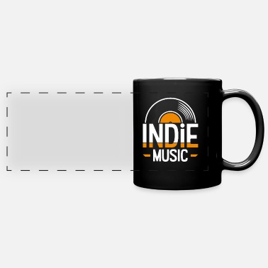 Indie Indie music - Panoramic Mug