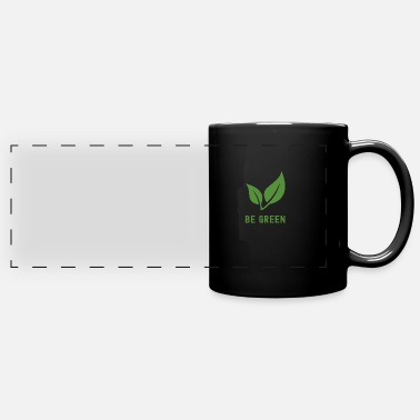 Attitude Be Green #Vegan - Panoramic Mug