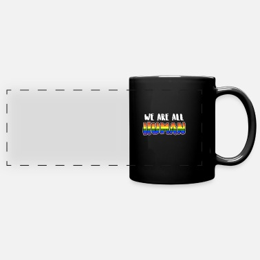 Bisexual We are all people - Panoramic Mug
