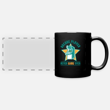 Player Retro Arcade Player - Automat Gamer Gift - Panoramic Mug