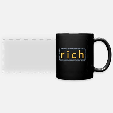Rich rich - Panoramic Mug