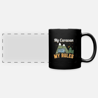 Travel My Caravan My Rules Gift - Panoramic Mug