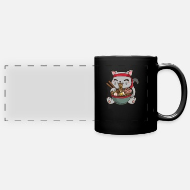 Ramen Japan Anime Manga Cat Noodle Food Cosplay - Panoramic Mug