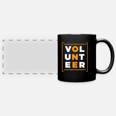 Volunteer Volunteer Rescue Volunteers Volunteering Charity - Panoramic Mug