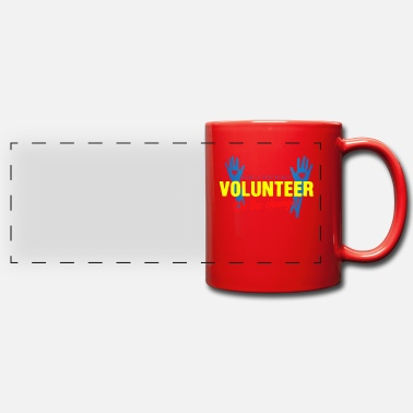 Volunteer Volunteer Be The Change Volunteering Volunteers - Panoramic Mug