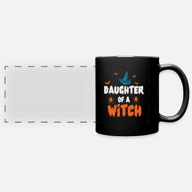 Occasion Daughter Of A Witch Mom Mother Halloween Bat Gift - Panoramic Mug