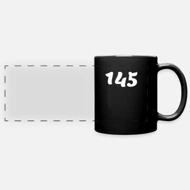 Number One Hundred Forty Five 145, 145, nombre, 145, cent - Panoramic Mug