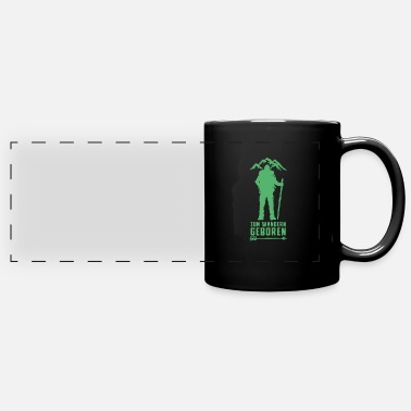 Hiking Hike Hike Hike Hike - Panoramic Mug