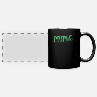 Rally Rally Rally Rally Car Rally Rallies - Panoramic Mug