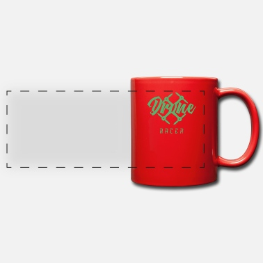Race Drone racing race pilot race - Panoramic Mug