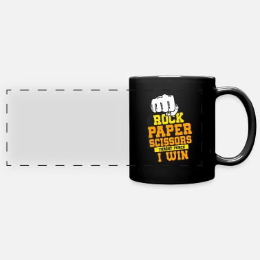 Paper ROCK PAPER SCISSOR: Rock Paper Scissors - Panoramic Mug