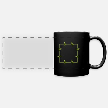 Square Square heartbeat square - Panoramic Mug