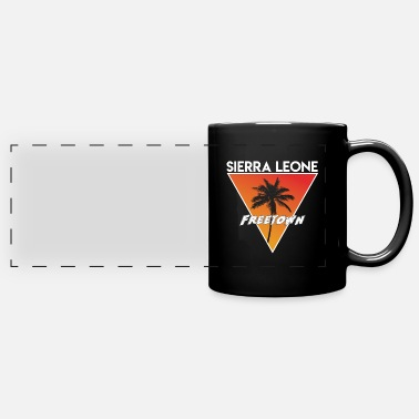 Capital sierra leone with capital - Panoramic Mug