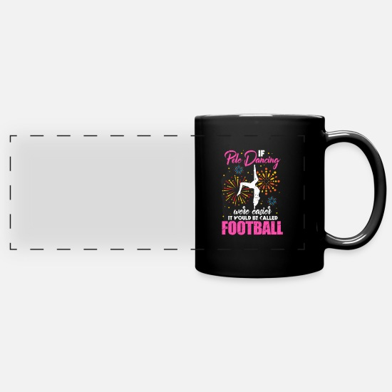 Pole Dance Mugs & Drinkware - Pole Dance - Panoramic Mug black