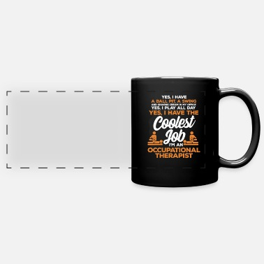 Occupation Occupational therapy occupational therapist occupational therapy - Panoramic Mug
