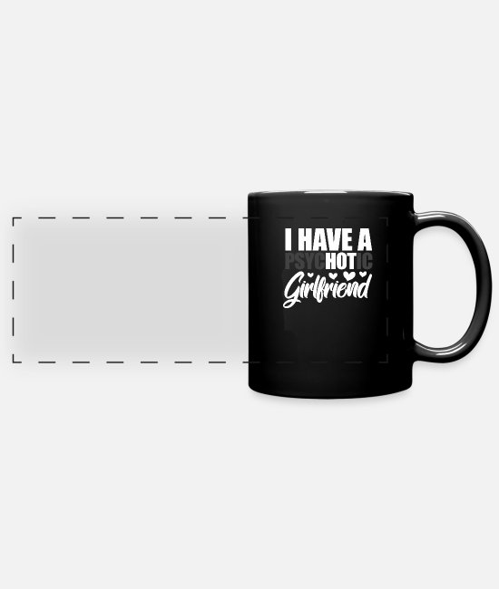 Couples Mugs & Drinkware - Couples - Panoramic Mug black
