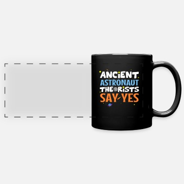 Ancient Ancient astronaut theorist say yes - Panoramic Mug
