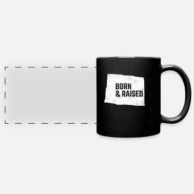 Born And Raised Colorado Born And Raised - Panoramic Mug