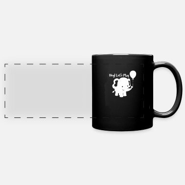 Elephants Elephant - elephant - Panoramic Mug