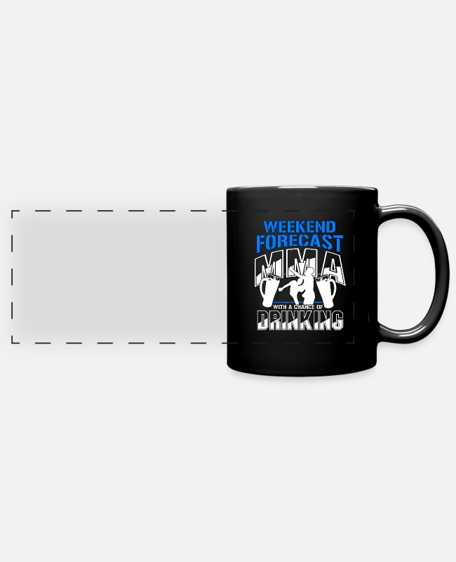 Krav Maga Mugs & Drinkware - Funny Mixed Martial Arts Martial Artists MMA Gift - Panoramic Mug black
