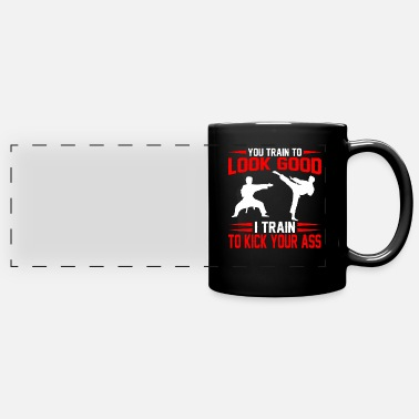 Selfie Kung Fu Karate Fighter Gift I Arts martiaux - Mug panoramique