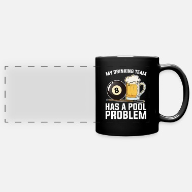 Player Billiards Pool Player Gift I 8-Ball Billiards - Panoramic Mug