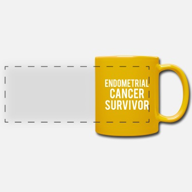 Endometrial Cancer Poison Endometrial Cancer: Endometrial Cancer Survivor - Panoramic Mug