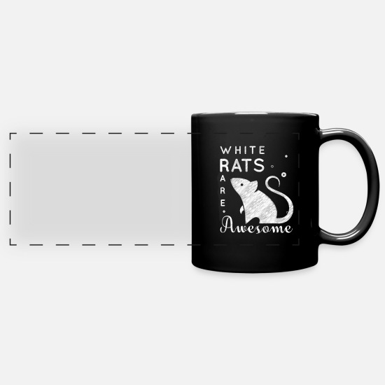 Mouse Mugs & Drinkware - mouse - Panoramic Mug black