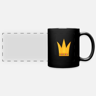 Golden Crown Golden crown king queen - Panoramic Mug