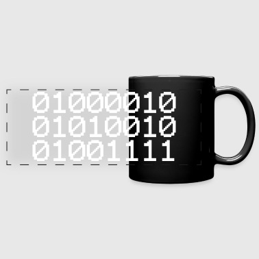 BINARY BRO - Full Color Panoramic Mug