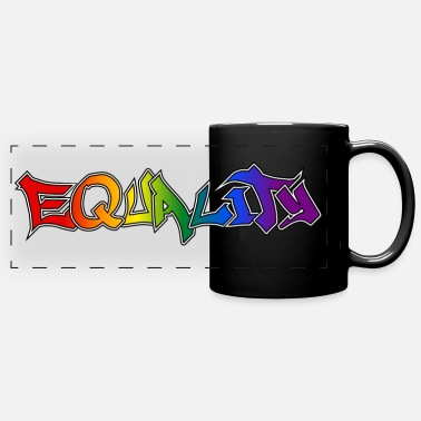 Equality Tasse - Full Color Panoramic Mug