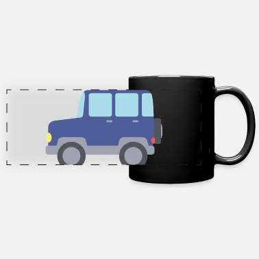 Jeep jeep - Panoramic Mug