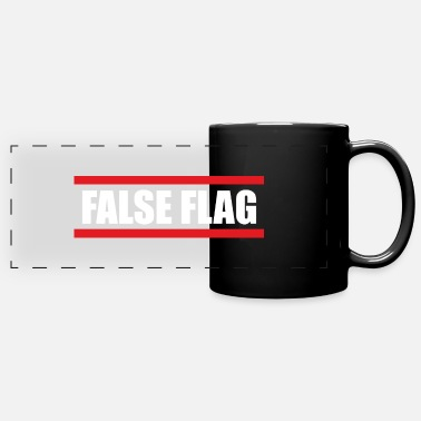False False flag - Panoramic Mug