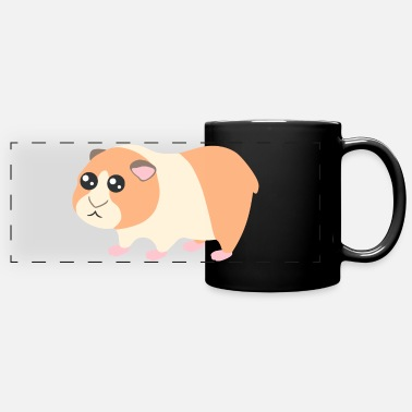Kawaii Guinea pig - Panoramic Mug