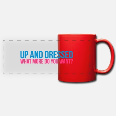 Dress Up up & dressed - Panoramic Mug