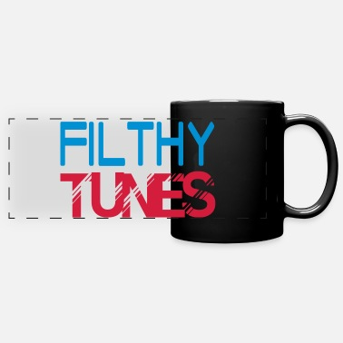 Filthy filthy tunes - Panoramic Mug