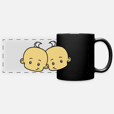 Mummy brother boys 2 friends team couple sibling twins h - Panoramic Mug