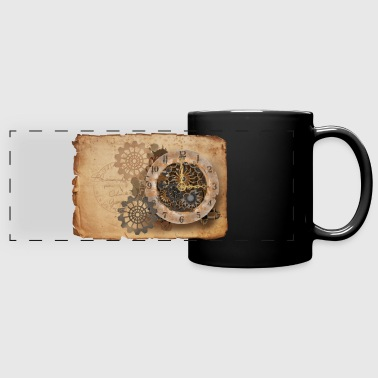 Steampunk watch - Mug panoramique uni