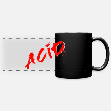 Acid Rap Acid - Techno - Acid House - Acid Rap - Panoramic Mug