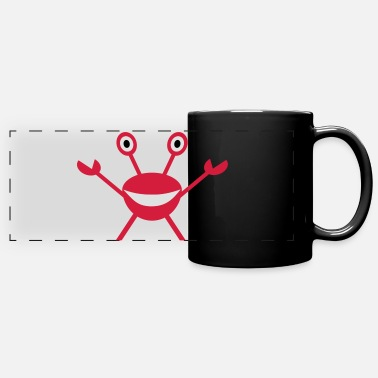 Crab Crab - Crabs - Panoramic Mug