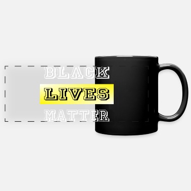 Death Black Lives Matter - Panoramic Mug