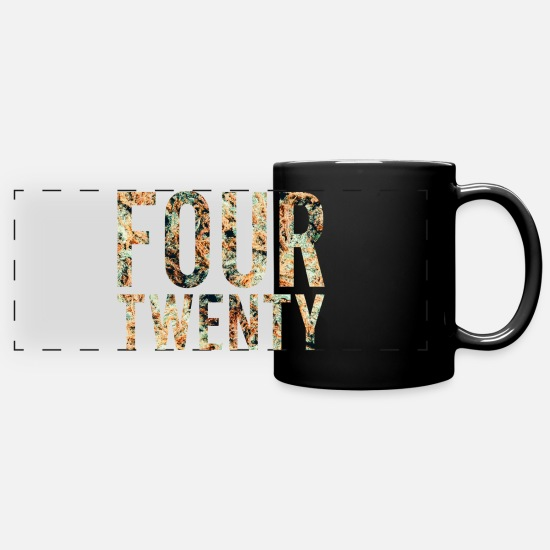 Dope Mugs & Drinkware - #420 - Panoramic Mug black