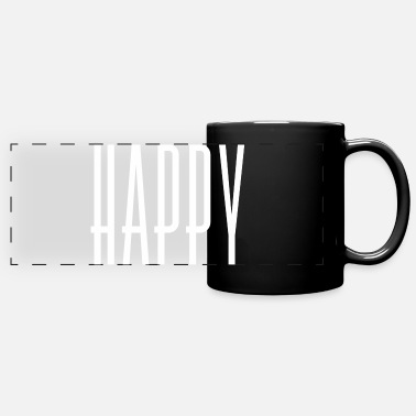 Happy Birthday happy - Mug panoramique
