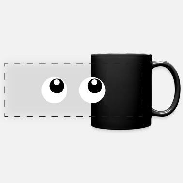 Eye Eye eyes Eye eye - Panoramic Mug