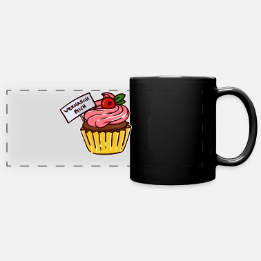 Tartlets cupcake snacking muffin dessert snacking - Panoramic Mug