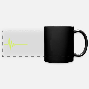 Ekg EKG heartbeat - Panoramic Mug